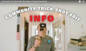 community trick shot sweets