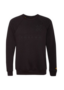 HMGRWN_box_logo_crewneck_sweater_black