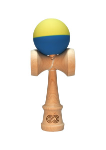 kendama_usa_kaizen2_half_split_blue_yellow_face