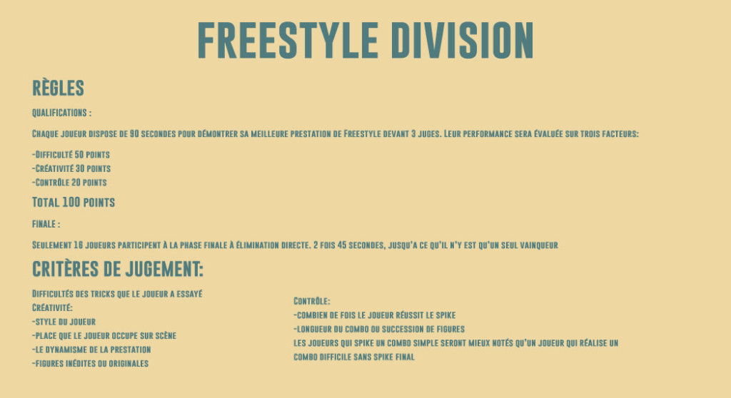 FREESTYLE-DIVISION