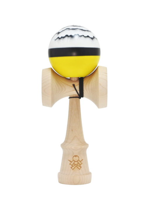 kendama_sweets_luzumaki_yellow_half_split_cushion_clear_face