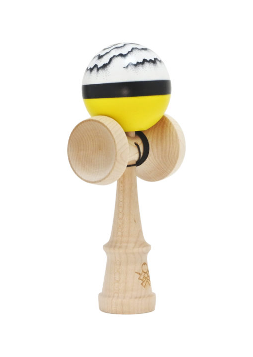 kendama_sweets_luzumaki_yellow_half_split_cushion_clear_profil