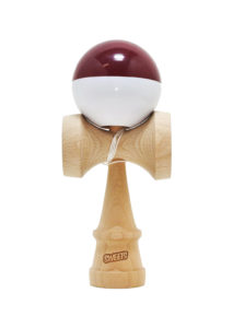 kendama_sweets_sumo_maroon_white_half_split_face