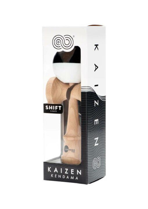 kendama_usa_kaizen_shift_half_split_black_white_pack