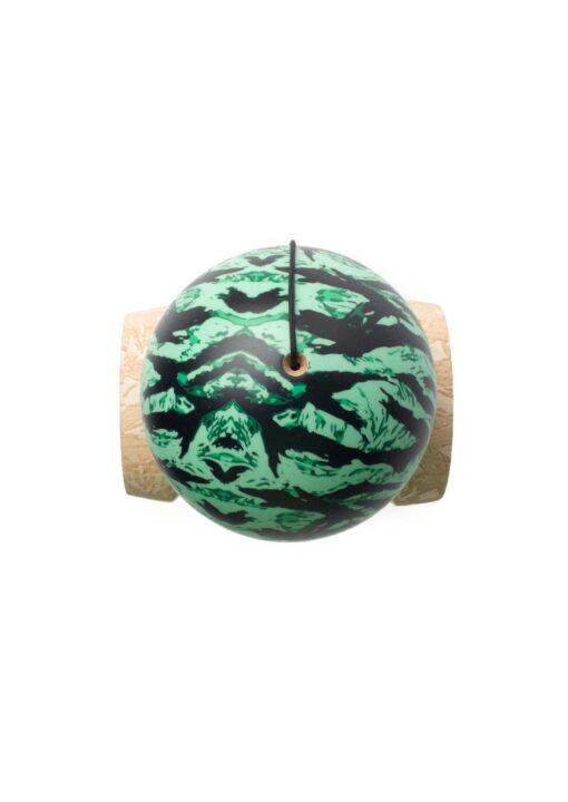 kendama_sweets_custom_v25_Mint_Tigerstripe_top