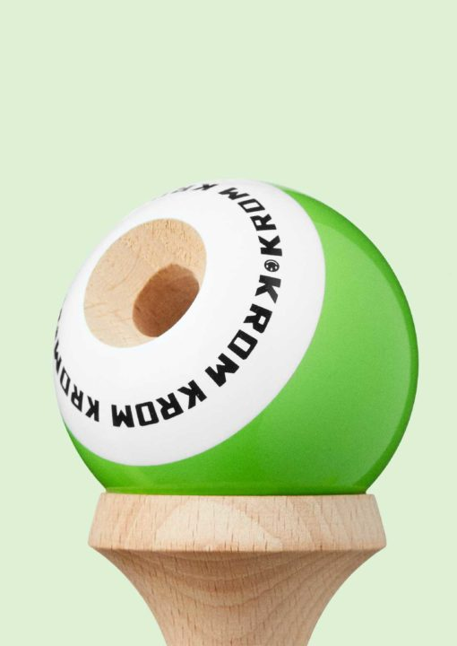 kendama_krom_pop_lol_green_lime_bevel